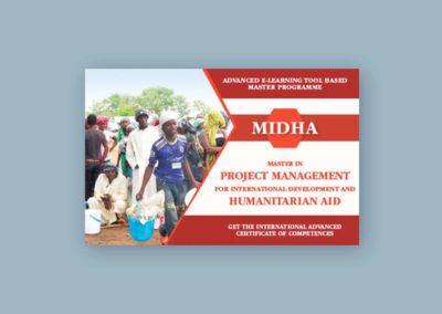 Ideazione e realizzazione del banner per il Master in Project Management di Humanitarian Training Academy