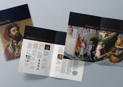 Progetto grafico e realizzazione della brochure per i 750 anni dalla nascita di Marco Polo