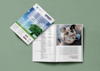 Ideazione grafica e realizzazione della brochure per la promozione del Master Quality di Uninform