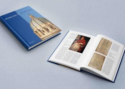 Grafica e impaginazione del volume Petros Eni, per i 500 anni della fabbrica di San Pietro, editore Edindustria