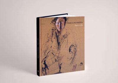 Ideazione della copertina e impaginazione del libro d'arte di Pier Luigi Berto