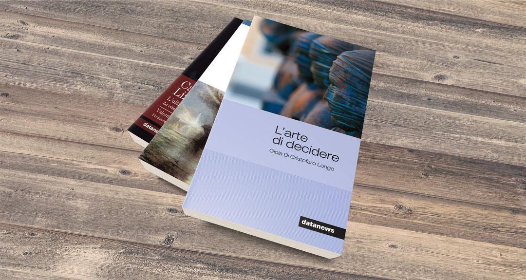 Ideazione delle copertine dei libri per edizioni Datanews
