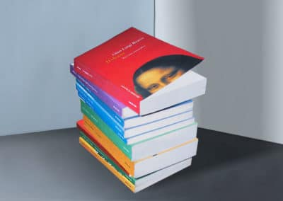 Impaginazione di circa 800 libri per Meltemi editore
