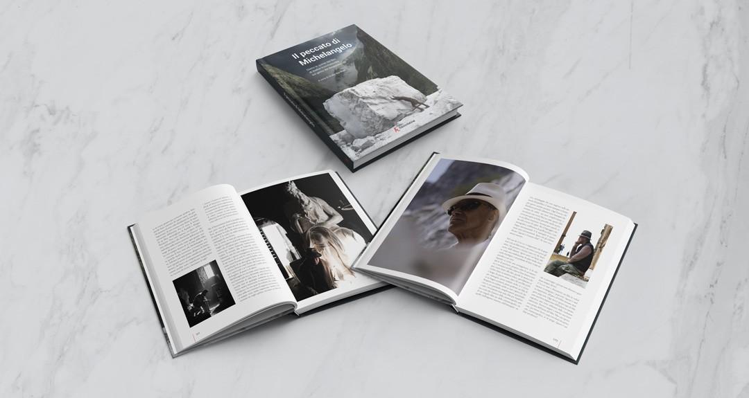 """Progetto grafico e impaginazione del libro di """"Il peccato di Michelangelo"""", Edizioni Sabinae"""
