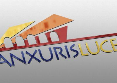 Ideazione del logo per l'evento Anxuris Luces