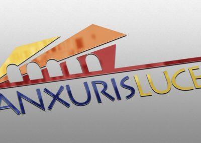 Ideazione del logo per l'evento Anxuris Luces