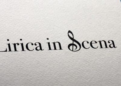 Ideazione del logo per Lirica in scena