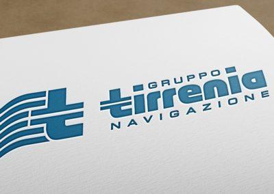 Ideazione del logo Gruppo Tirrenia di navigazione