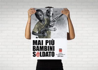 Ideazione grafica della locandina per la ONG Intersos