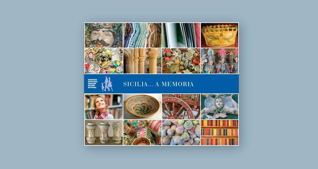 Ideazione e realizzazione grafica del pannello Sicilia... a memoria