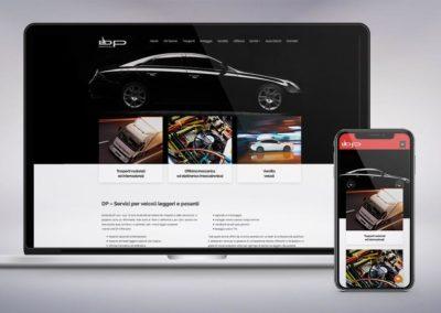Web design e realizzazione del sito per Trasporti DP a Terni