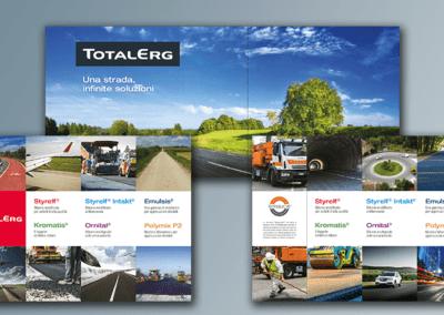 Ideazione e realizzazione grafica dei pannelli per Totalerg
