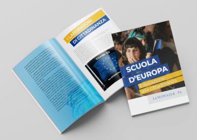 Progetto grafico e realizzazione della brochure per La Nuova Europa
